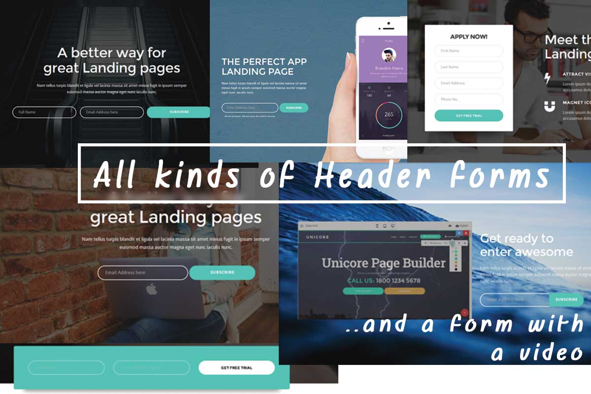 Bootstrap Landing Page Theme Builder